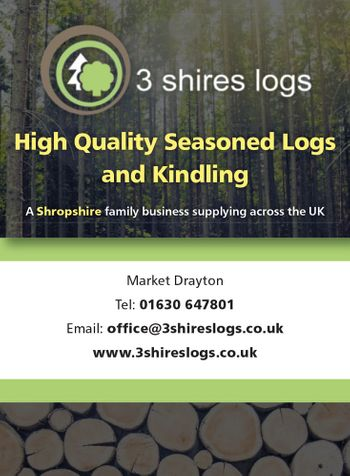 3 shire logs advert